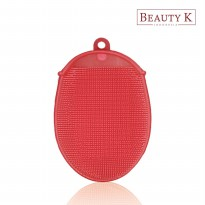 BeautyK Eco Silicone Beauty & Body Shower Towel Pink