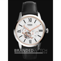 Jam Tangan - Fossil ME3104 Townsman Automatic Black Silver Rose Gold