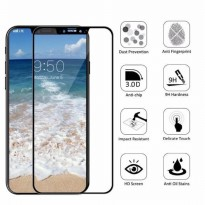 tempered glass 6D for iphone X