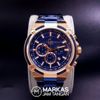 Jam Tangan Pria Gc Cable Force Chronograph Stainless Steel Watch
