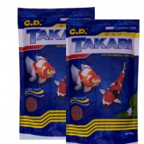 2pcs TAKARI Fish Food 1mm 100gr Mix