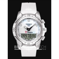 Jam Tangan Tissot T-Touch T047.220.47.111.00 Mother Of Pearl Titanium