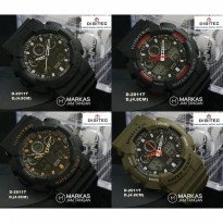 Jam Tangan Pria Digitec DG-2011 Double Time Rubber ORIGINAL