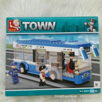 LEGO SLUBAN CITY BUS
