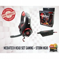 HeadSet Mediatech Gaming - STORM MGH1