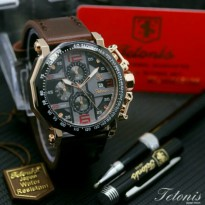 Jam Tangan Pria Tetonis 6012 Body Rose OriginaL
