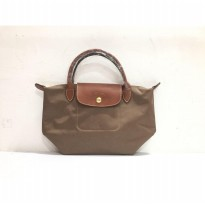 Authentic Longchamp Le Pliage Classic Small short Handle - Brown