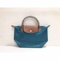 Authentic Longchamp Le Pliage Classic Small short Handle - Teal