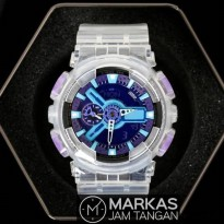 Jam Tangan Pria Casio G-Shock GA-110 CR Transparent AutoLight ORIGINAL