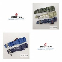 Tali Jam Tangan Digitec Watch Rubber Strap ORIGINAL
