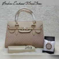 Paket 3in1 Gucci Emboss Leather