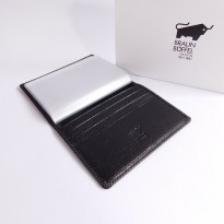 DOMPET KARTU CARD HOLDER KULIT ASLI IMPORT BRANDED | BRAUN BUFFEL CC01
