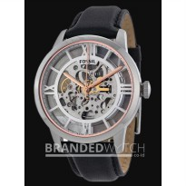 Jam Tangan Fossil ME3041 Townsman Automatic Black Silver Gold