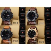 Jam Tangan Pria Swiss Army SA-2278 Chronograph Leather ORIGINAL