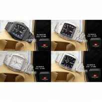 Jam Tangan Pria Swiss Army Day-Date Stainless Steel ORIGINAL