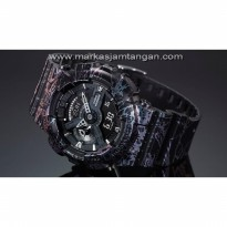 Jam Tangan Pria Casio G-Shock GA-110 SL Slash Pattern Rubber ORI-BM