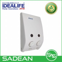 Dispenser Sabun - Idealife IL-ORG2 Liquid Dispenser - 400ml x 2