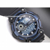 Jam Tangan Pria Casio AEQ-200W Digital Rubber ORIGINAL