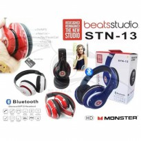 Headset Bluetooth Beats Studio STN-13  Headphone Hedset Stereo Beat