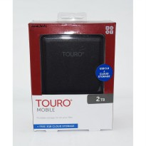 HGST Hitachi Touro 2TB 5400RPM - HD / HDD / Hardisk External 2.5
