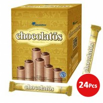 CHOCOLATOS WAFER ROLL 24 Pcs