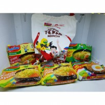 Indomie asian games goodie bag tas serut satukan tekad indonesia 18th