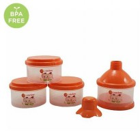 LITTLE BABY MILK POWDER CONTAINER/ KONTAINER TEMPAT SUSU BUBUK 4 SUSUN (808 S-4)