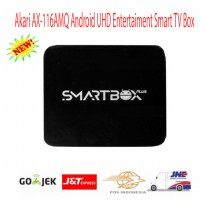 Akari Smart Box AX-116AMQ Android UHD Entertaiment Smart TV-Promo