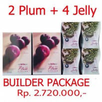 Optrimax Plum & Jelly Mix Builders Package (Members Pac
