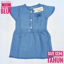 1 2 3 4 tahun dress anak jeans kupu-kupu oshkosh light