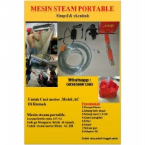 PREMIUM NEW..PAKET MESIN STEAM PORTABLE