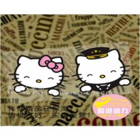 Stiker Mobil Hello Kitty Polices