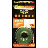 3M Super Strong Transparent (KTD-12) (eceran) double tape paling kuat jual dg harga murah