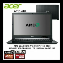 Laptop ACER ASPIRE A515-41G-13JX AMD A12 DOS