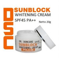 DSC Sunblock Whitening Face Cream SPF 45 PA+++