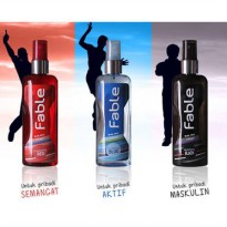 Fable Body Mist Cologne - Pria (1 pak isi 3 Variasi Aroma)