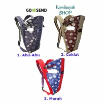Gendongan Bayi Ransel | Baby Carrier Baby Scots - 1-3 T