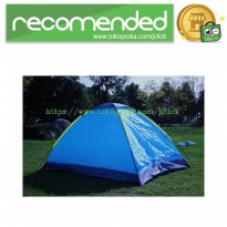 Double Layer Door Camping Tent / Tenda Camping - Blue