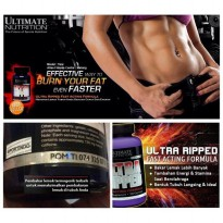 ULTIMATE NUTRITION ULTRA RIPPED FAF FAST ACTING FORMULA 30 CAPS