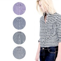 New Collection 'Joe fresh' Ladies Office Shirts - 8 Motif - Kemeja Wanita - Kemeja Kasual