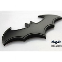Stiker Emblem Batman Bahan Full Metal