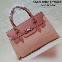 Gucci Emboss Leather