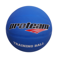 Proteam Basket Rubber Traning Ball 1.5 Kg Blue