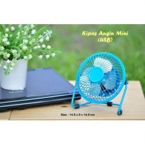 Kipas Angin USB / USB Mini Fan Besi