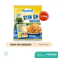 KENTANG MYDIBEL SKIN ON WEDGES 2,5KG FREE ONGKIR JABODETABEK