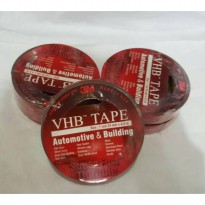 Double Tape 3M VHB Isolasi Ukuran 24 mm 4 5m Perekat 3M Lem 3M