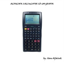 Alfalink Calculator CD 630 Dark Blue