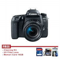 Canon EOS 77D Kit EF-S 18-55mm IS STM - FREE Accessories