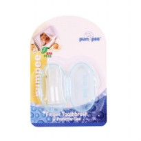 PUMPEE Finger Toothbrush with Protective Case | sikat gigi jari bayi