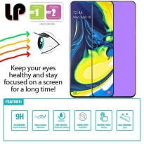 LP Full Anti-Blue Light Tempered Glass Samsung Galaxy A80